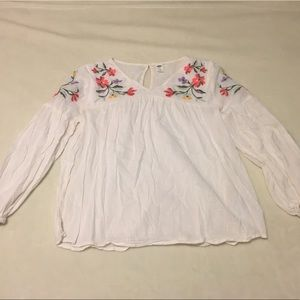 Old Navy | Long Sleeve Floral Blouse